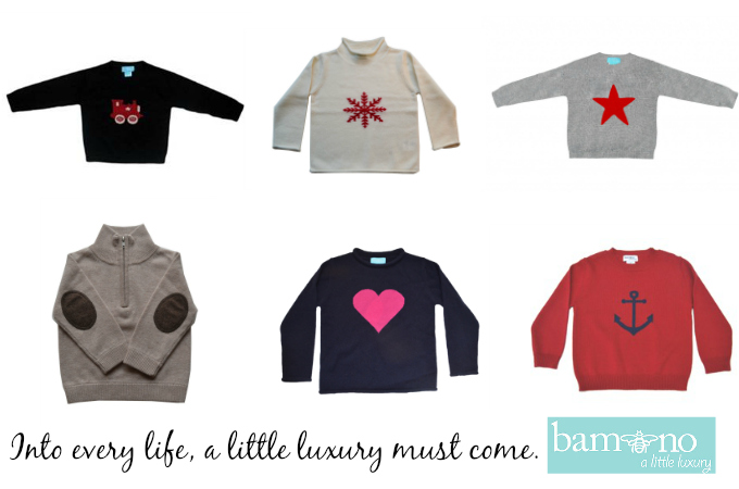 Bambeeno Cashmere Sweaters Children Holiday