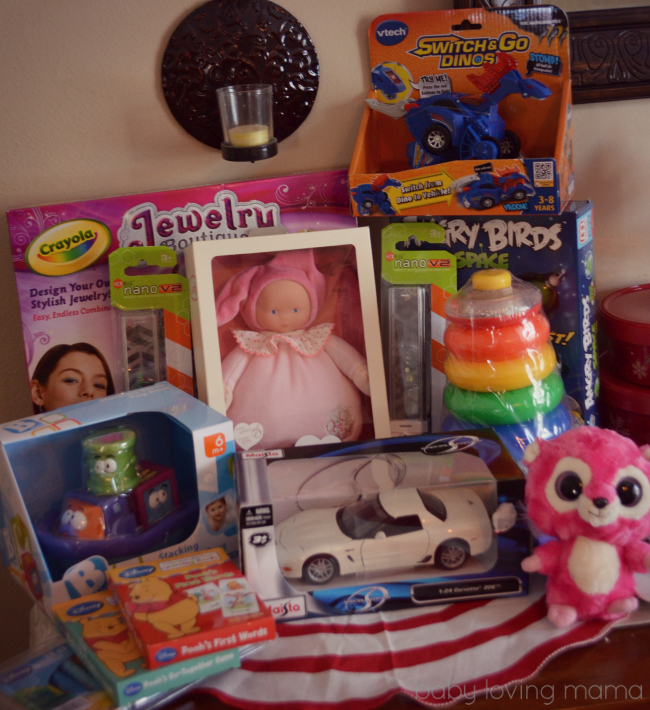 Betty Crocker Toys for Tots Charity Donation