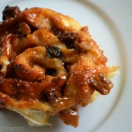 Easy Caramel Nut Raisin Sticky Buns