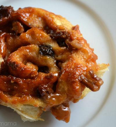 Easy Caramel Nut Raisin Sticky Buns