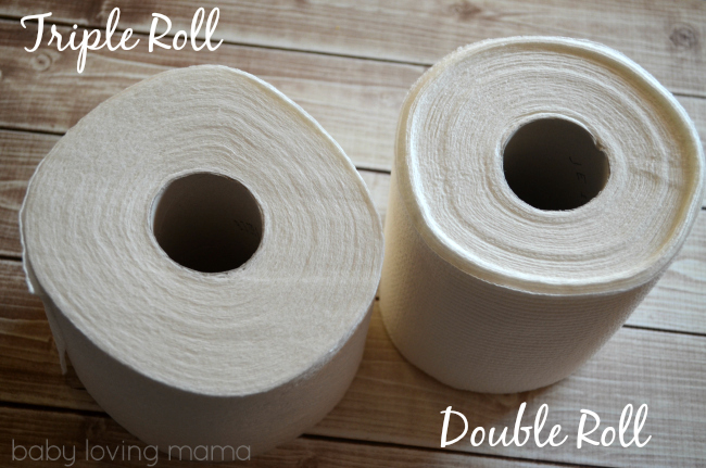 Cottonelle Triple Roll vs Double Roll