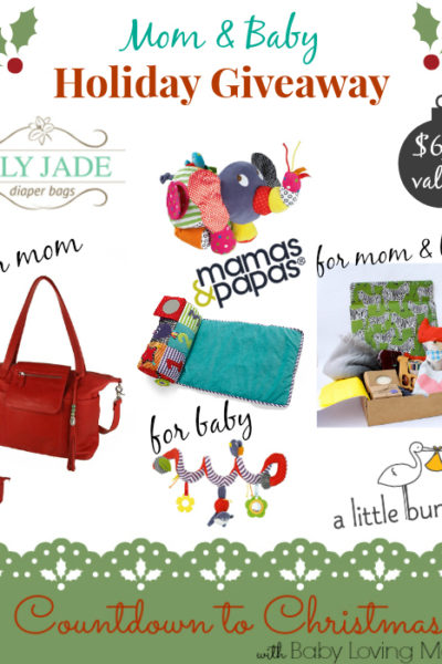 Mom and Baby: Countdown to Christmas Holiday GIVEAWAY ($630 value)