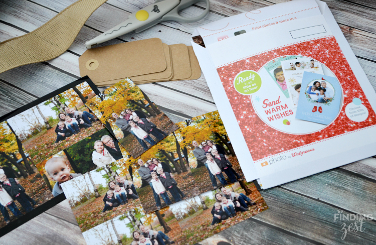 DIY Photo Gift Tags for Mason Jar Gift