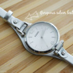 Keeping Track of Time in Style: Three Hand Georgia Fossil Watch #FossilStyle
