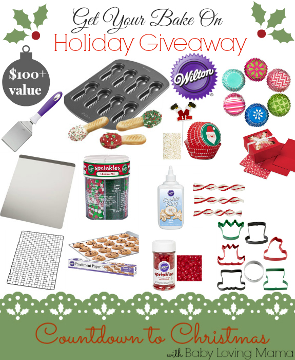 Get Your Bake On Countdown to Christmas Giveaway