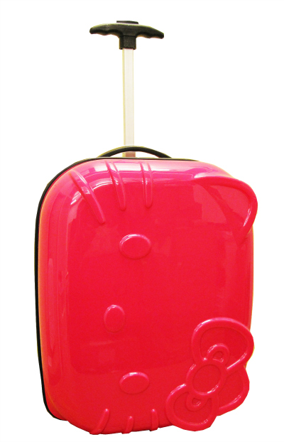 Hello Kitty Pink ABS Luggage Rolling Carryon