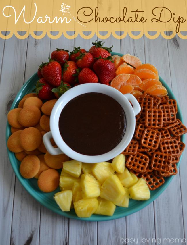 Kraft Warm Chocolate Dip