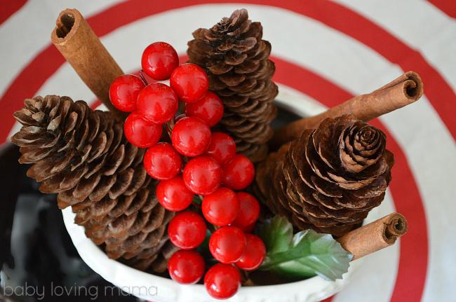 Personal Creations Holiday Decor Ceramic Santa Boot Idea