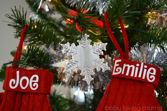 Personal Creations Holiday Ornaments Snowflake Personalized Silver
