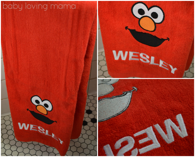 Personal Creations Personalized Elmo Towel Gift