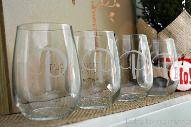 Personal Creations Stemless Wine Glass Etched