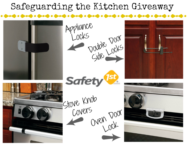 Safety 1st Safeguarding the Kitchen Giveaway
