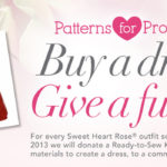 Give Back by Giving a Special Dress with Sweet Heart Rose
