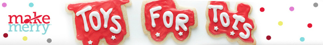 Toys For Tots Sign : Host a cookie exchange with betty crocker for toys