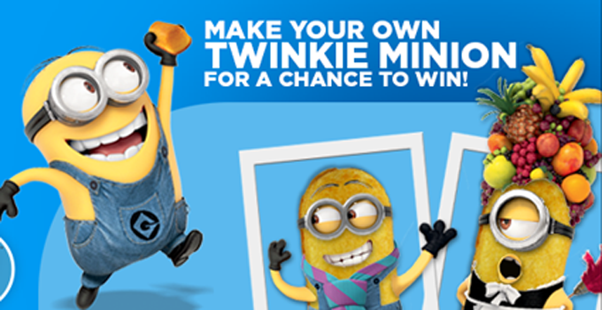 Twinkie Minion Makeover Sweepstakes Win Big With Hostess