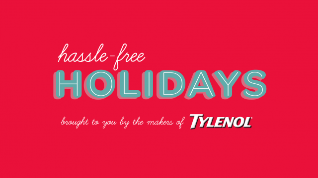 Tylenol Hassle Free Holidays