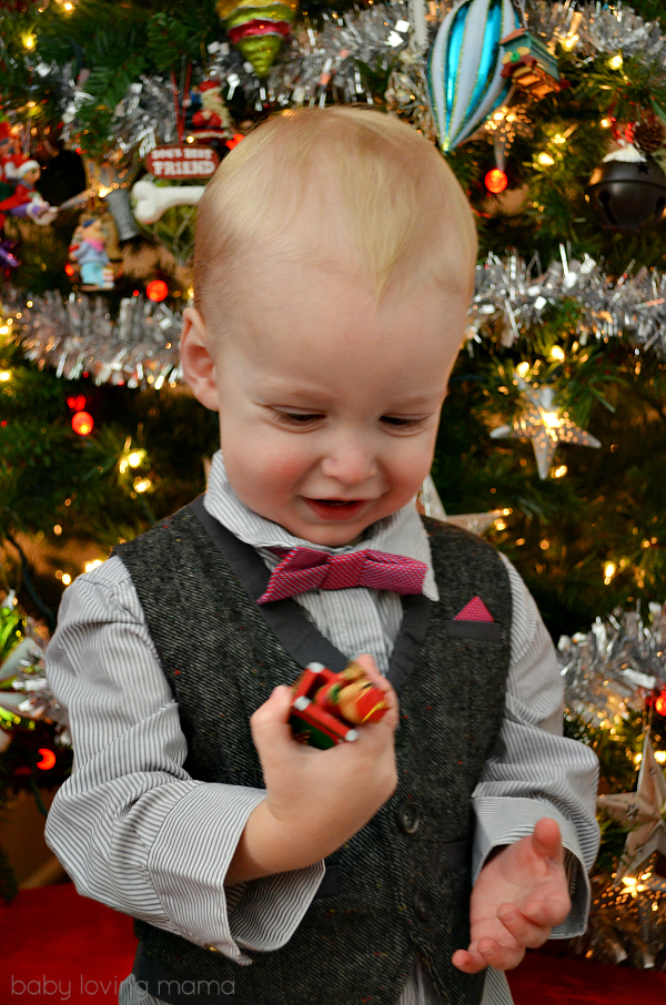 Wesley with Ornament Mamas and Papas suit