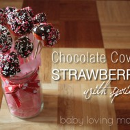 Chocolate Covered Strawberries Bouquet – Valentine Sweets for My Sweet