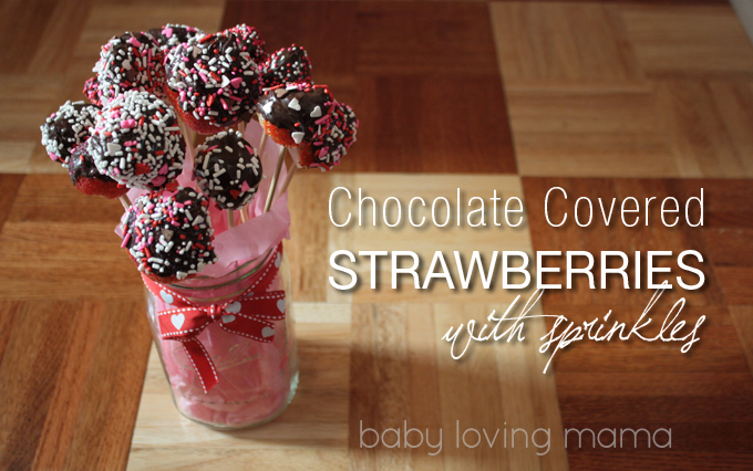 Chocolate Covered Strawberry Wrappers