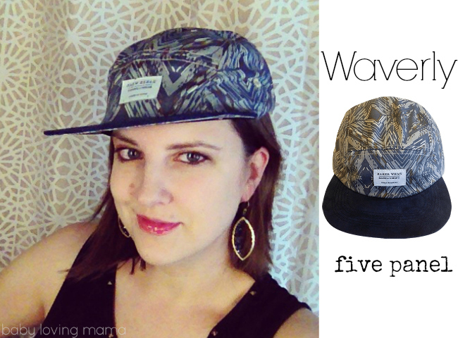Maker Wear Design Waverly Hat 5 panel