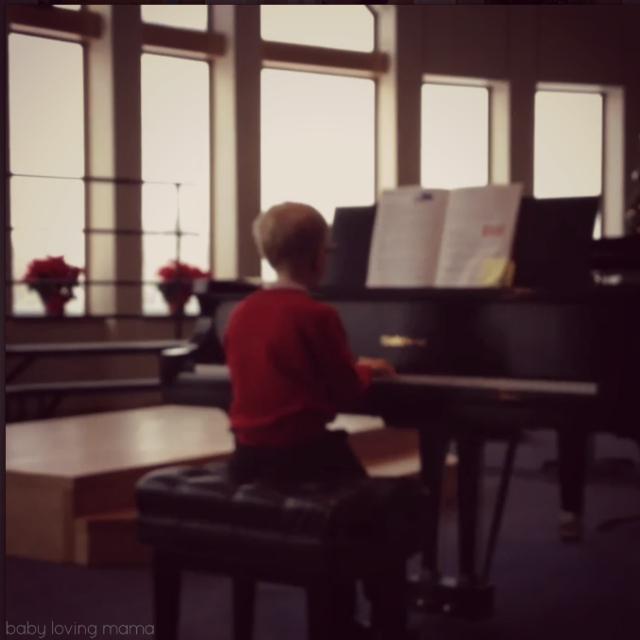 Milestones Lucian Piano Recital