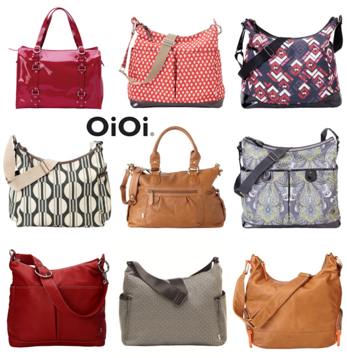 OiOi Diaper Bag Options
