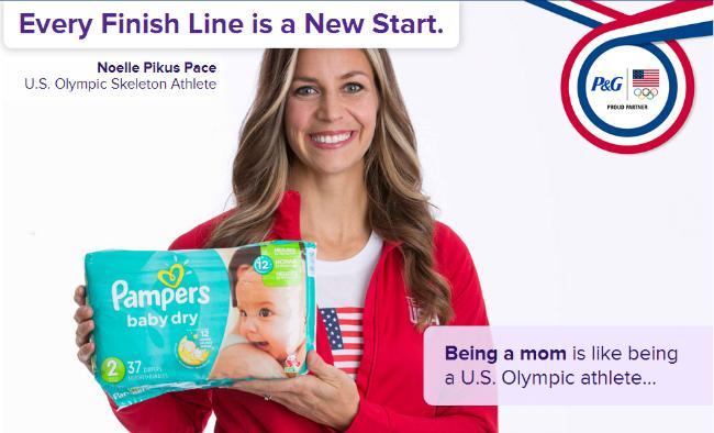 Pampers Babies R US Olypmics Savings Noelle Pikus Pace