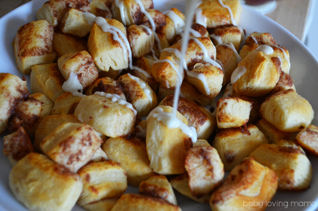 Pillsbury Cinnamon Roll Bites Glaze Drizzle