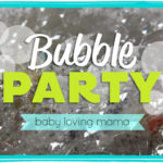 Bubble Party in the Sink: Fun Activity for Young Children