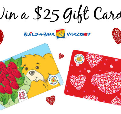Build-A-Bear Workshop: Gifts for Valentine's Day Benefiting Make a Wish + Giveaway