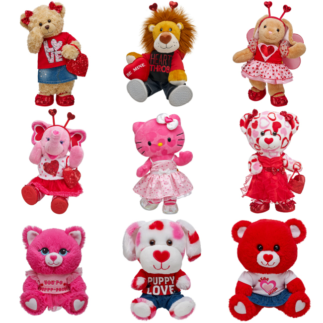 Build a Bear Workshop Valentines Day Make a Wish