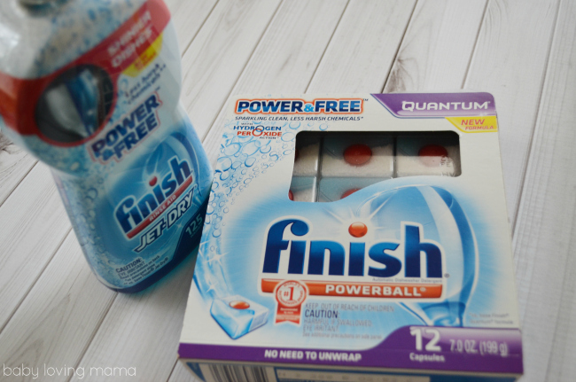 Finish Powerball Power and Free Jet Dry
