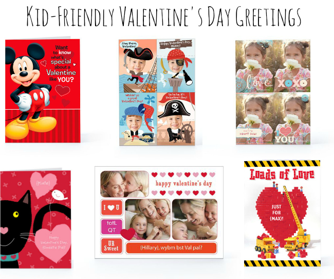 Hallmark Kid Friendly Valentines Day Greetings