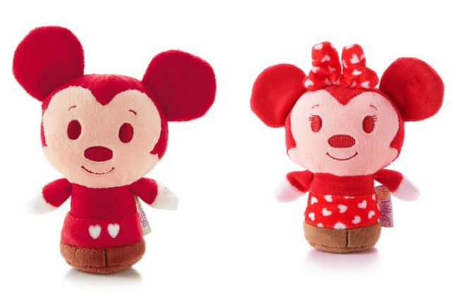 Hallmark Mickey Mouse Minnie Itty Bittys Valentines Day