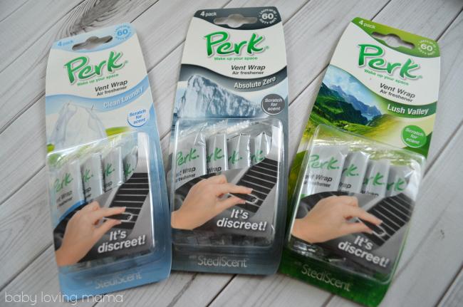 Perk Vent Wrap Air Fresheners for Car