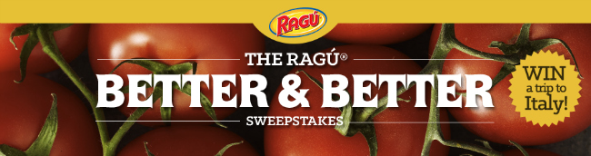 Ragu Bigger and Better Sweepstakes
