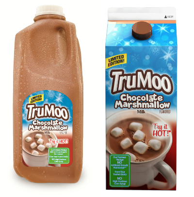 True Moo Chocolate Marshmallow Milk Products