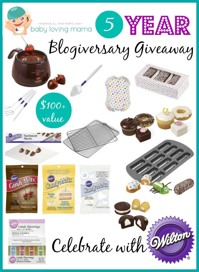 Wilton Baby Loving Mama Blogiversary Giveaway