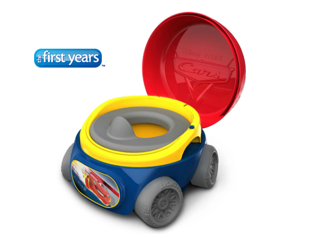 the first years disney pixar cars potty system