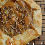 Caramel Apple Open-Faced Pie Recipe