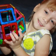 3D Building with Magformers from Constructive Playthings