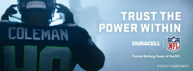 Duracell Trust the Power Within
