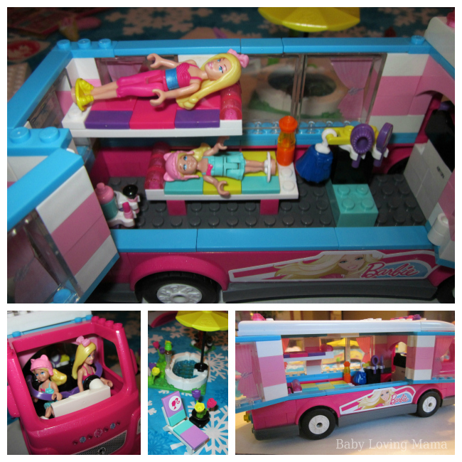 Mega Bloks Barbie Build n Play Luxe Camper