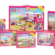 Glamping Barbie Style with Mega Bloks Build 'n Play Luxe Camper + Giveaway #BarbieCamper