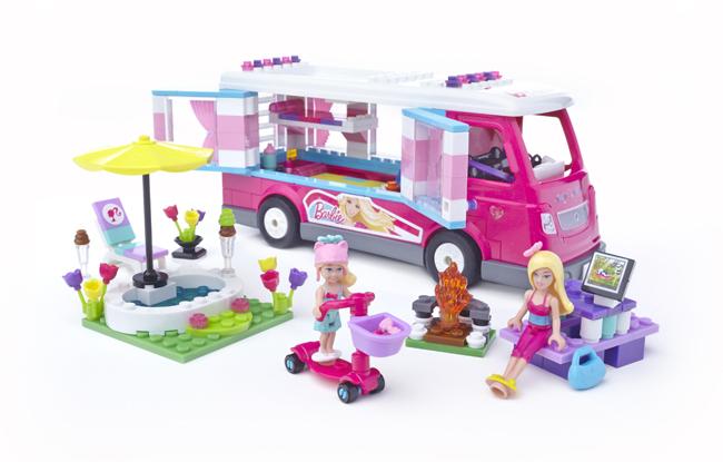 Mega Bloks BarbieCamper