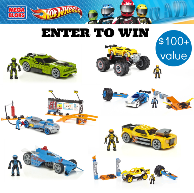 Mega Bloks Hot Wheels Giveaway