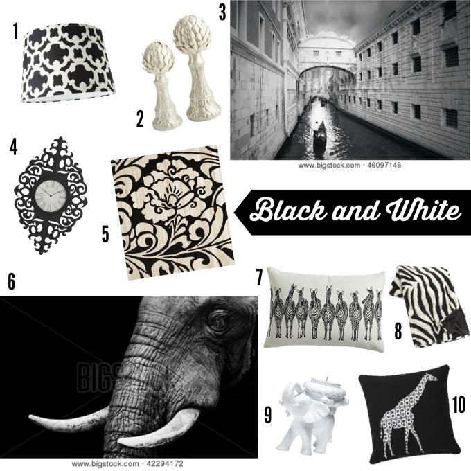 Big Stock Photo Black and White Decor Ideas