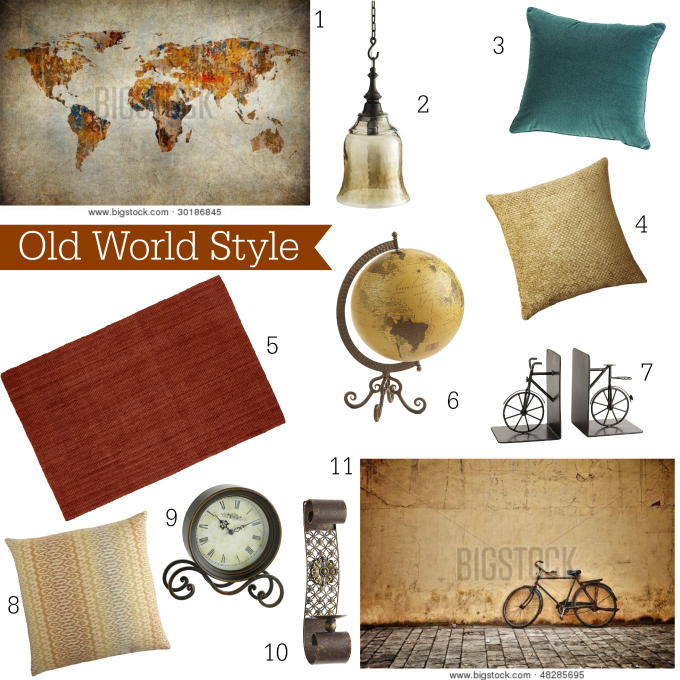 Big Stock Photo Old World Style Decor Ideas