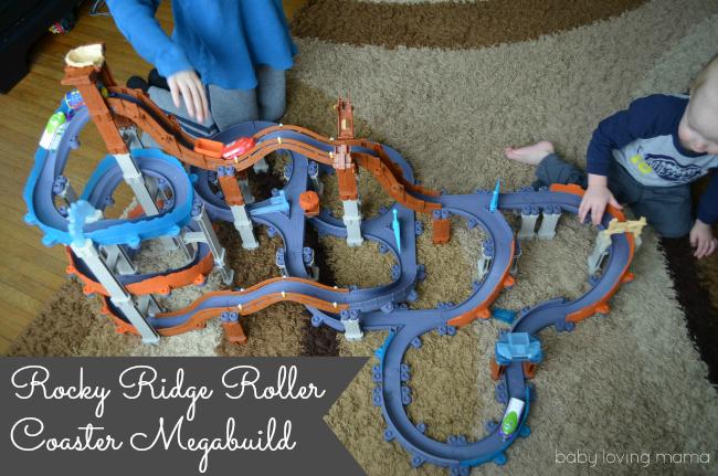 Chuggington Rocky Ridge Roller Coaster Megabuild Built