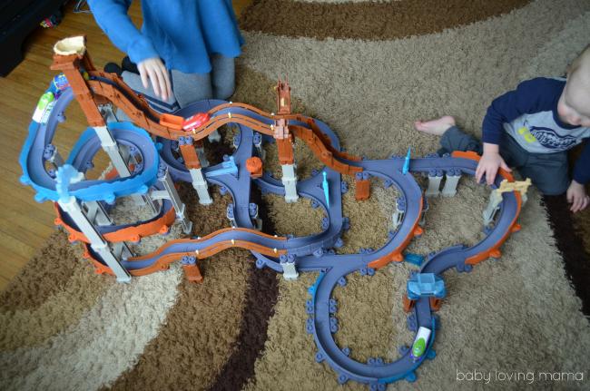 Chuggington Rocky Ridge Roller Coaster Megabuild Fully Built